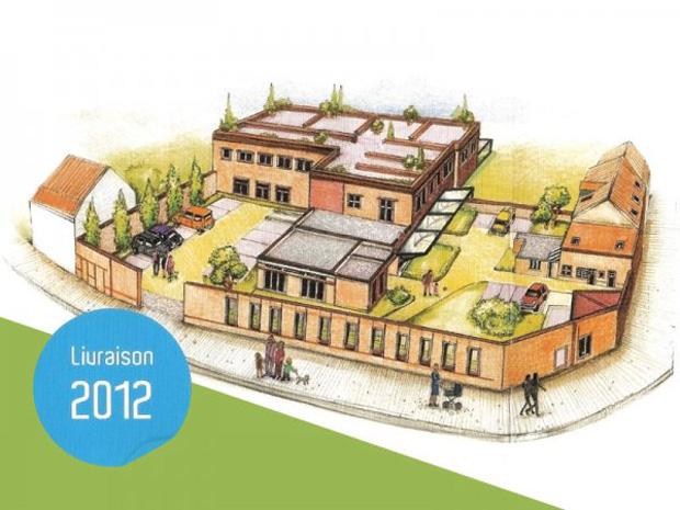 Le domaine des Bains, programme de lofts à Tourcoing