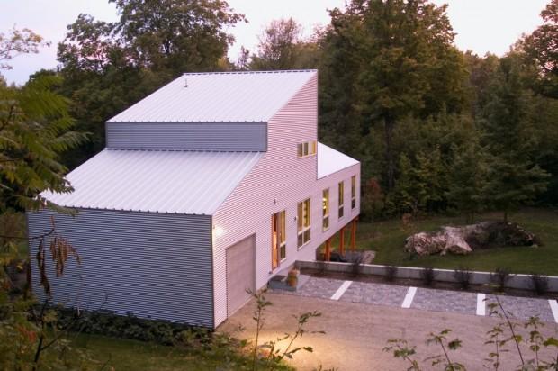 Maison ossature m tallique par birdseye design - Cout maison ossature metallique ...