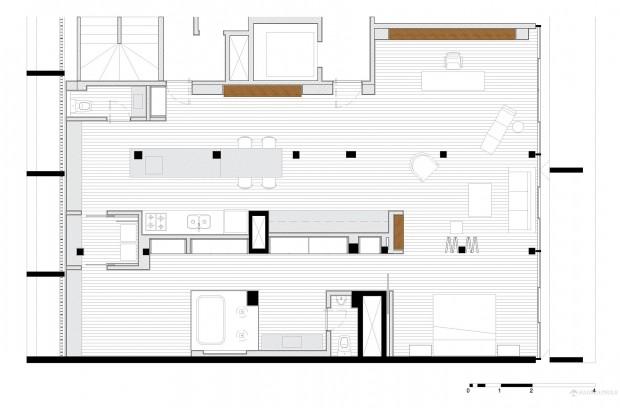 plan appartement loft