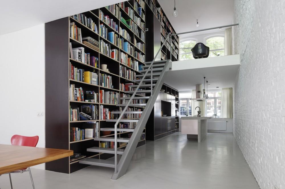 Vertical loft à Rotterdam par Shift A+U