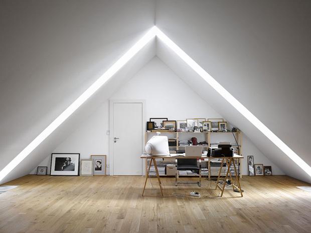 42 id es d co de bureau pour votre loft - Idee d amenagement de combles ...