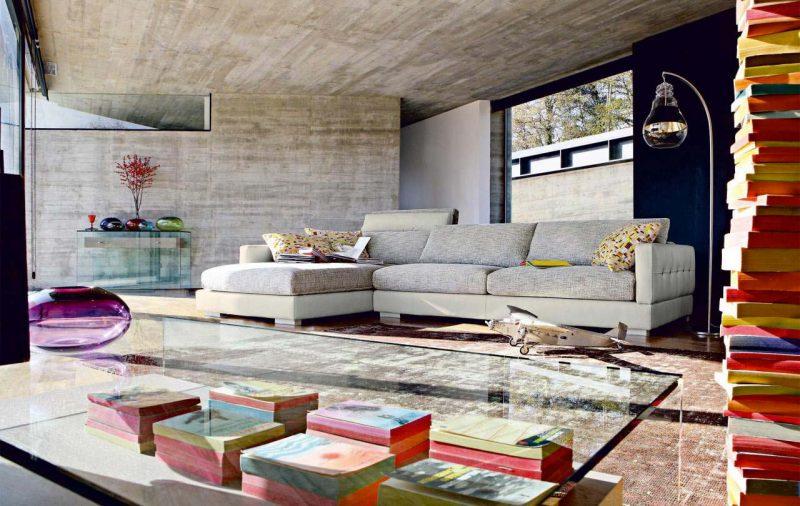 Canapé d'angle composable
