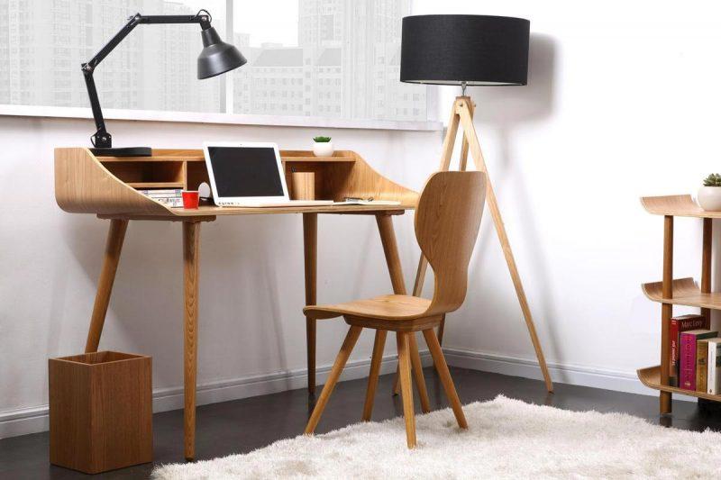 bureau esprit scandinave. Black Bedroom Furniture Sets. Home Design Ideas