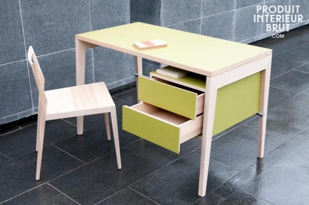 32 id es d co de bureau pour votre loft. Black Bedroom Furniture Sets. Home Design Ideas