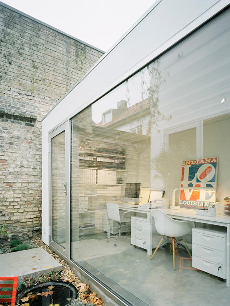 Bureau d'une maison d'architecte