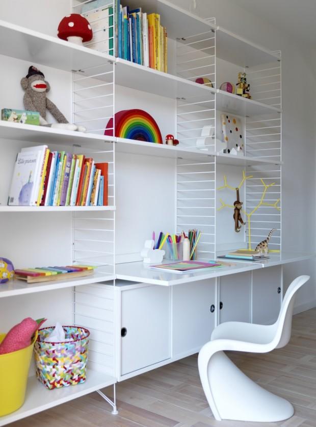 42 id es d co de bureau pour votre loft. Black Bedroom Furniture Sets. Home Design Ideas