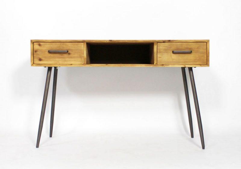 Bureau vintage pas cher awesome bureau scandinave en bois brute