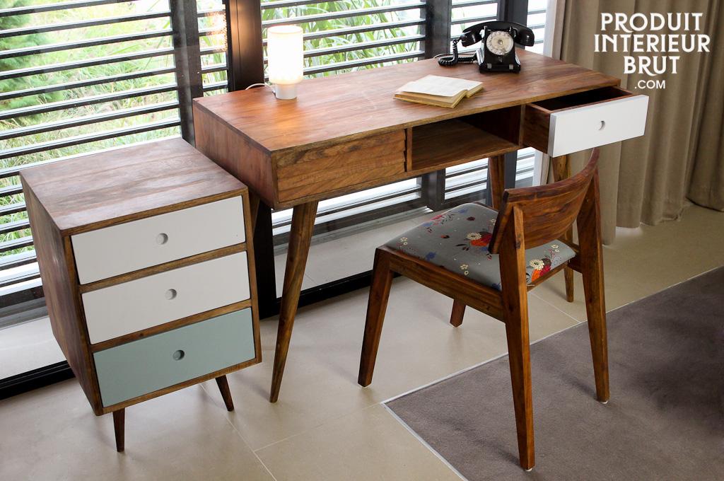 bureau vintage stockholm esprit scandinave. Black Bedroom Furniture Sets. Home Design Ideas