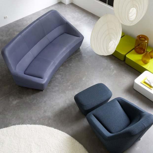 canap francois bauchet pour cinna. Black Bedroom Furniture Sets. Home Design Ideas