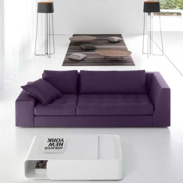 Canap violet - Canape violet convertible ...