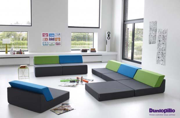 canap dunlopillo. Black Bedroom Furniture Sets. Home Design Ideas