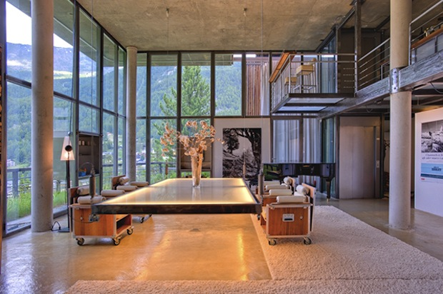 heinz julen loft chalet esprit loft en suisse. Black Bedroom Furniture Sets. Home Design Ideas