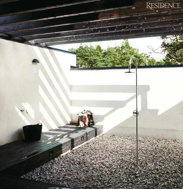 18 id es de douche pour votre loft for Oui non minimaliste