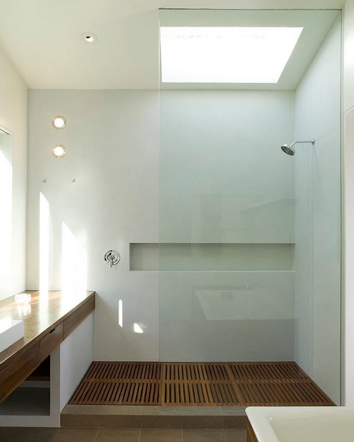 Douche paroi vitr e for Paroi vitree style atelier