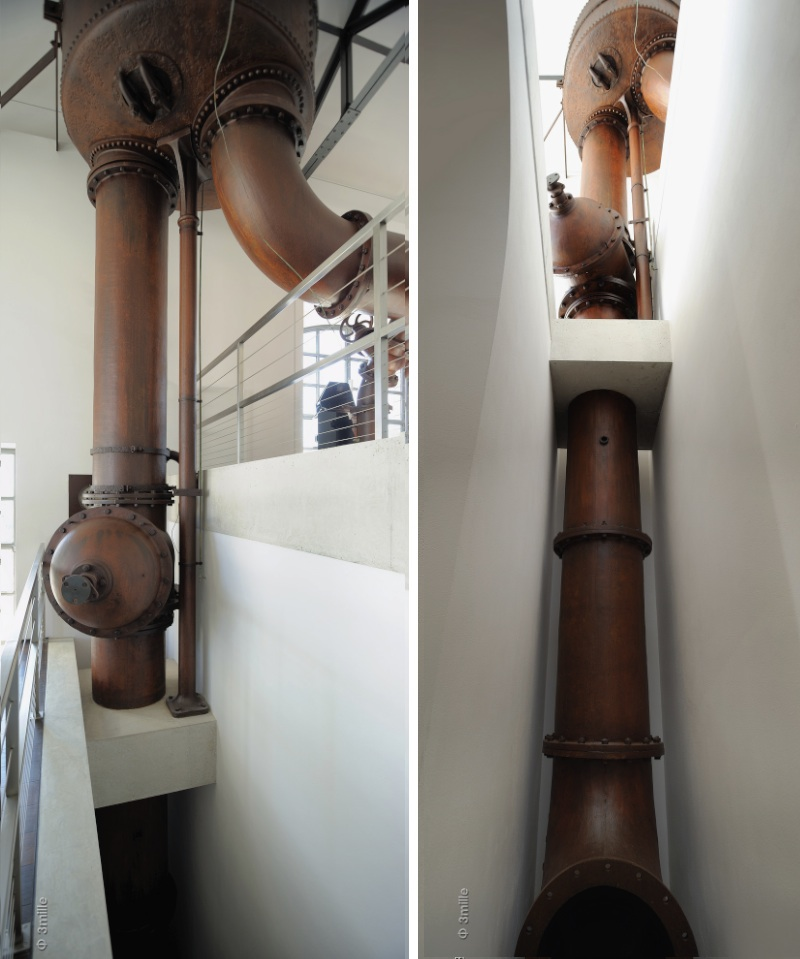 Loft avec anciennes machines