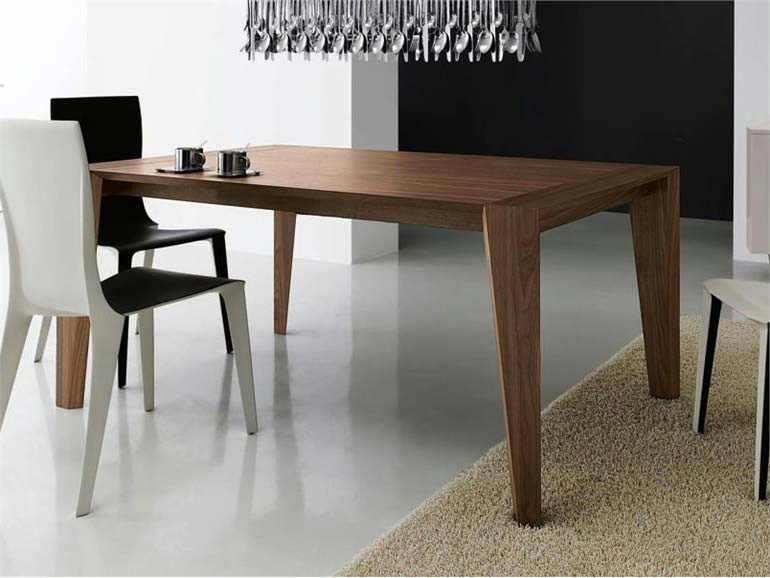 Table carree design extensible - Table carree extensible bois ...