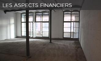 Aspects financiers de la création d'un loft