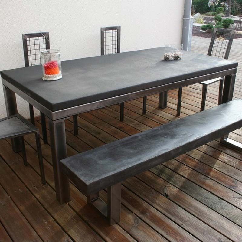54 id es de table pour votre loft for Solde table a manger
