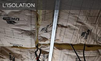 Isolation d'un loft