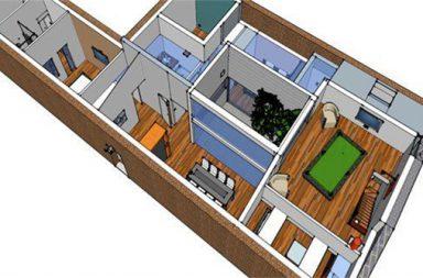 Le loft d'Isabelle et David en autoconstruction