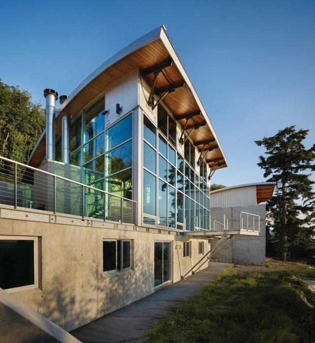 Maison esprit loft seattle for Construction maison style loft