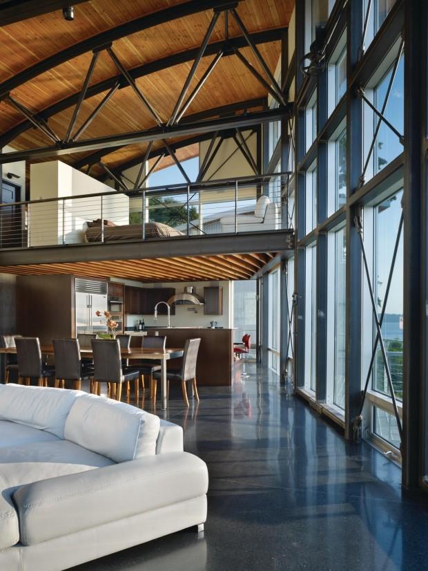 Maison esprit loft seattle for Loft maison