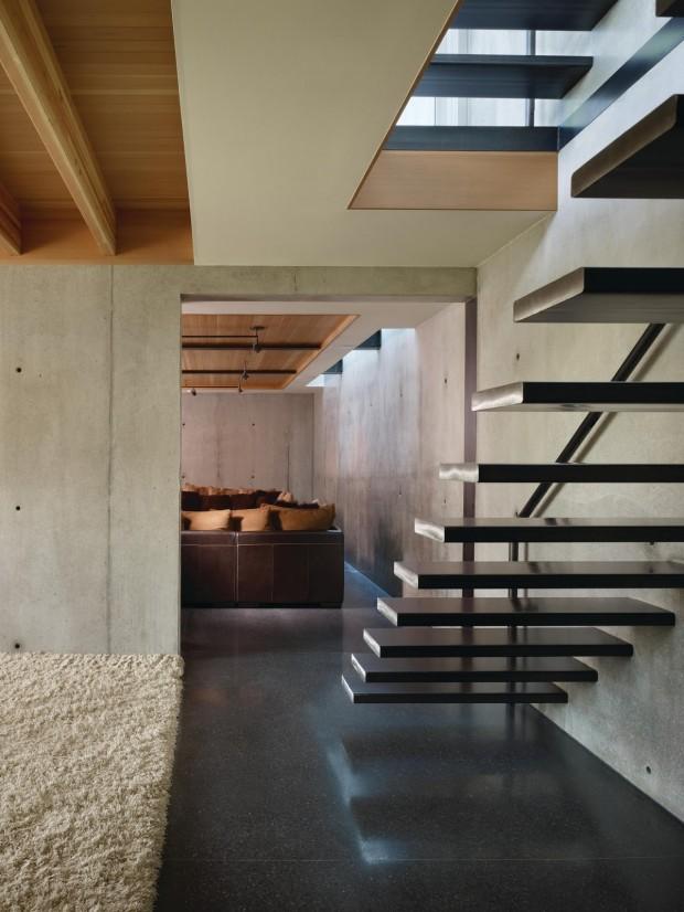 escalier du loft