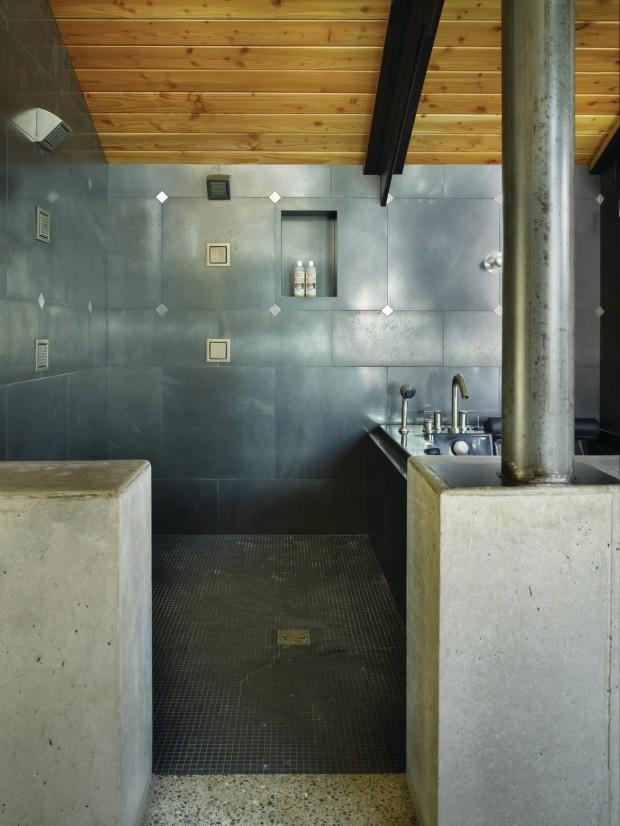 Salle de bain béton