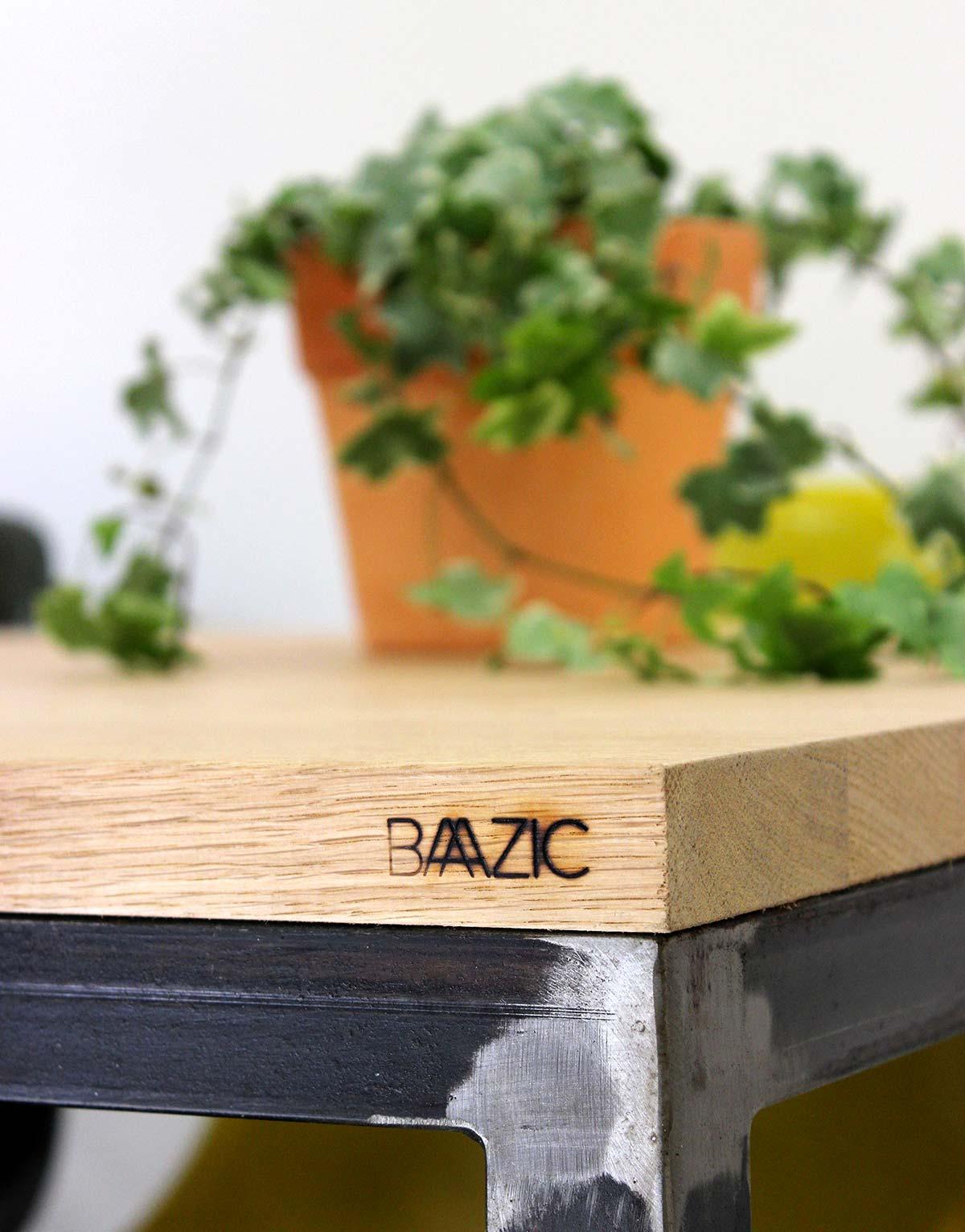 Table avec plateau en bois - Plateau en bois pour table ...