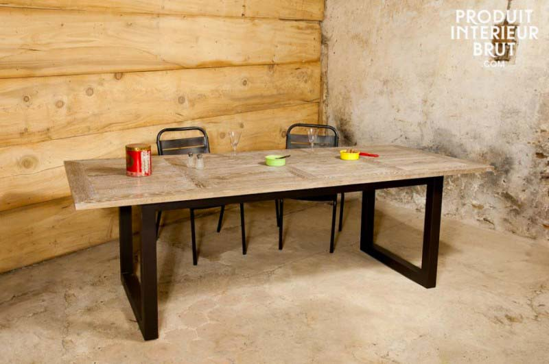 52 id es d co de table - Table carree chene clair ...