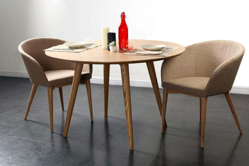 56 id es d co de table for Table ronde design 6 personnes