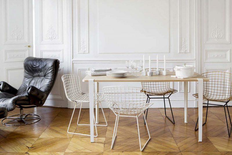 Table TipToe avec pieds design