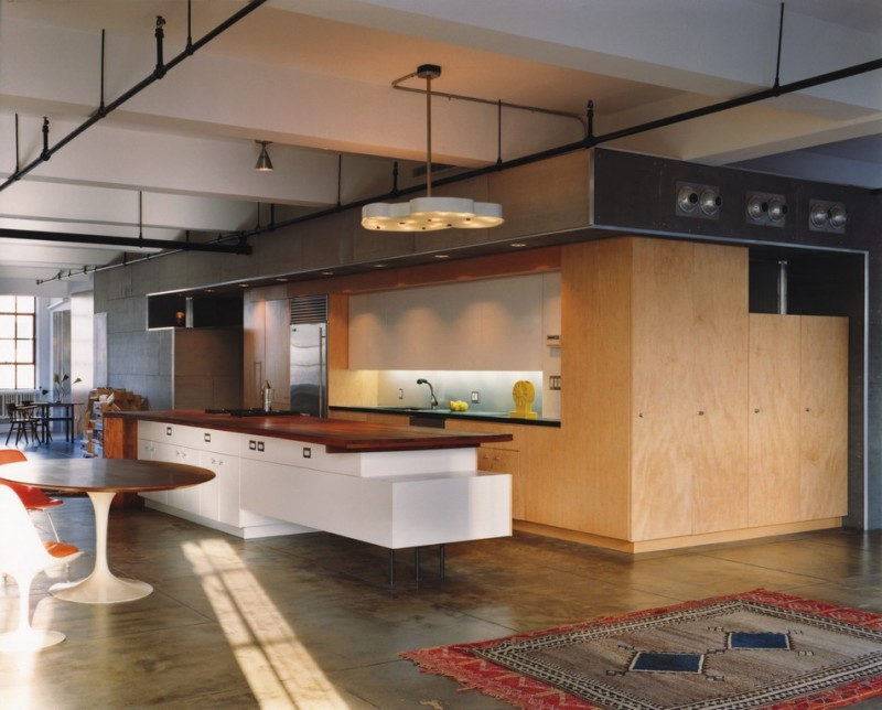 21 id es de cuisine pour votre loft for New york style kitchen design