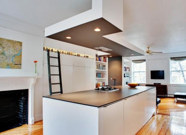 21 id es de cuisine pour votre loft - Idee de cuisine moderne ...