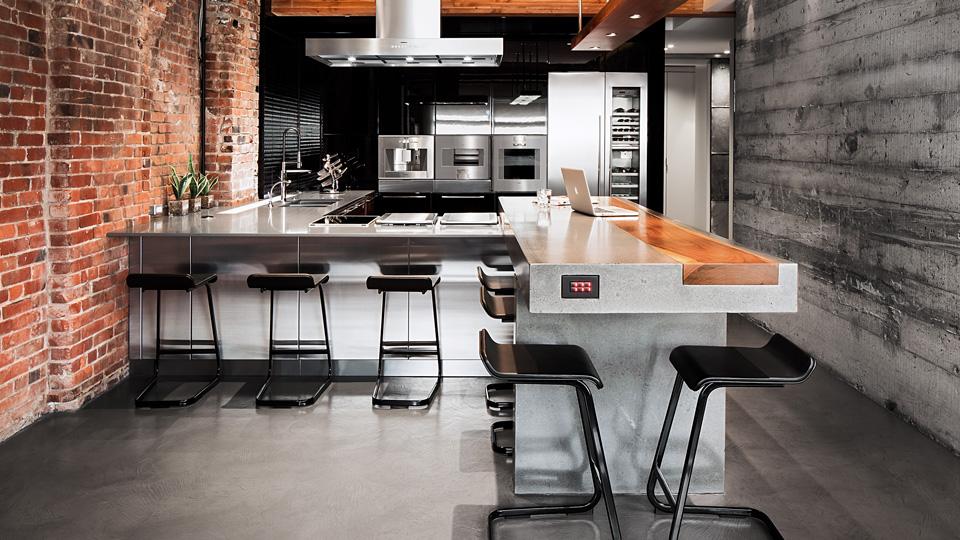 Idées De Cuisine Pour Votre Loft - Cuisine atypique
