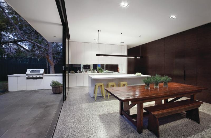 Cuisine interieur et exterieur