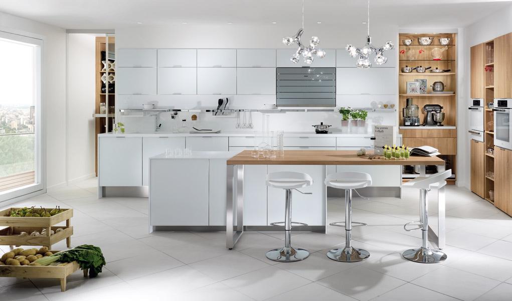 21 id es de cuisine pour votre loft for Perene cuisine prix