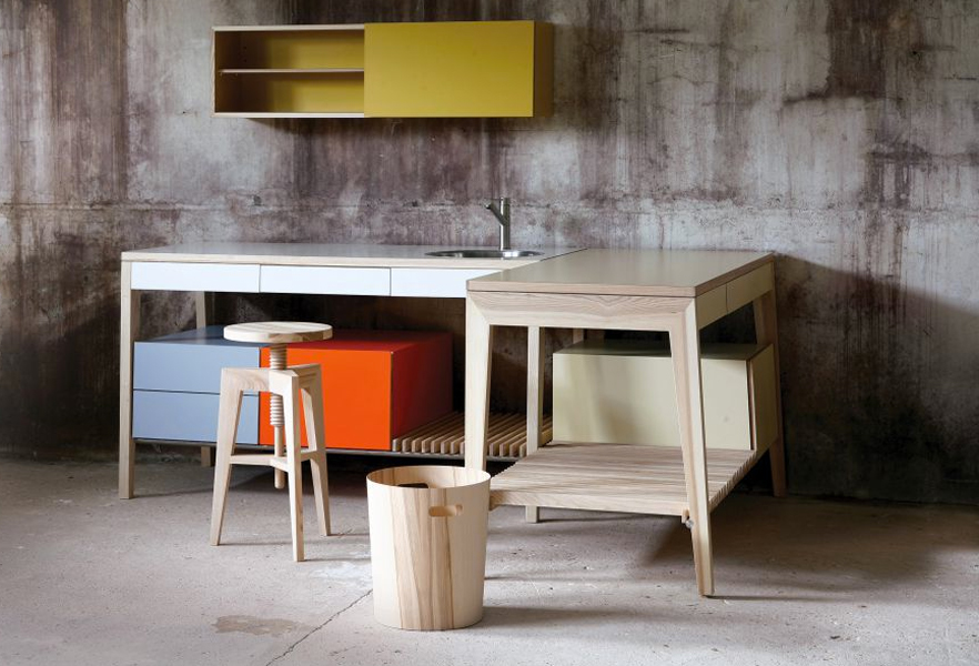 21 id es de cuisine pour votre loft for Cuisine atypique