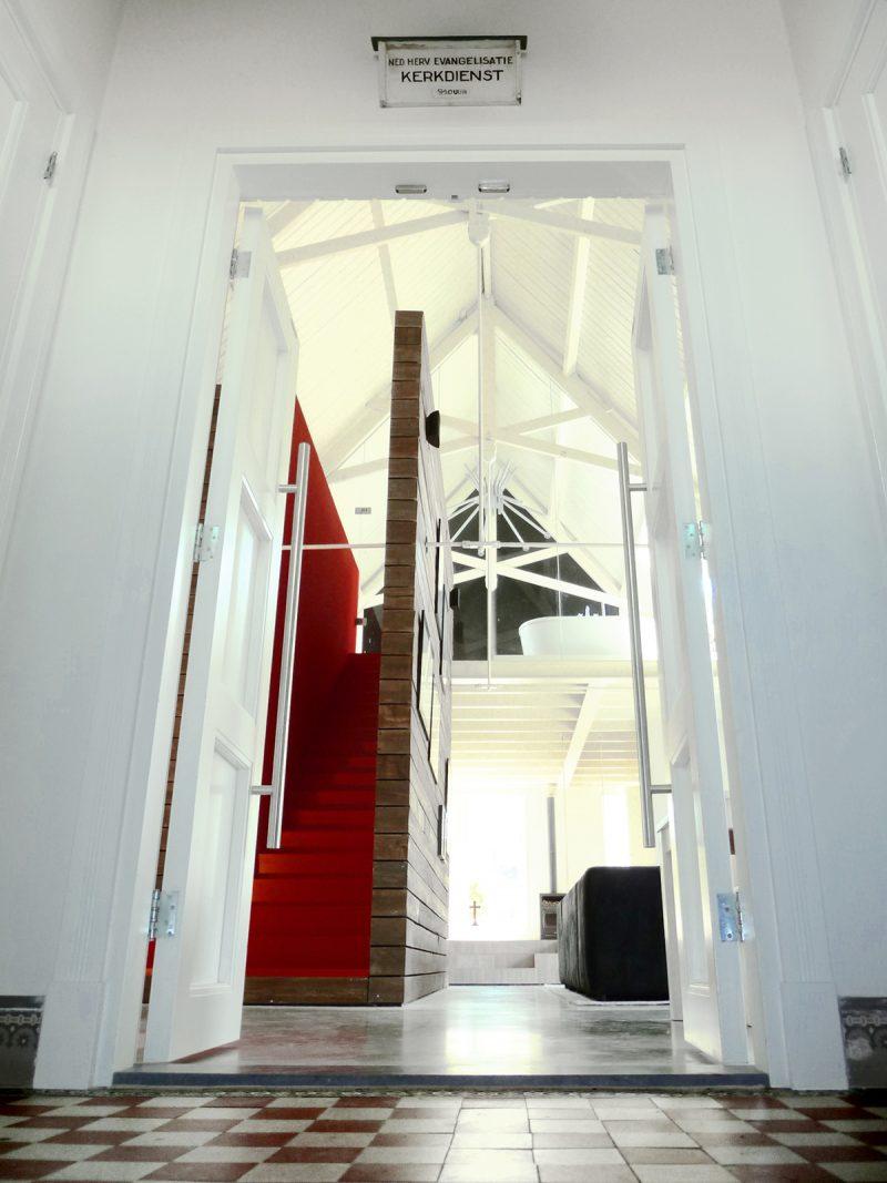 Église transformée en loft