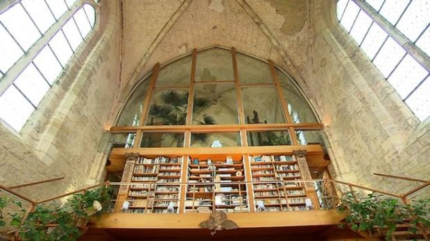 Chapelle des Templiers transformée en loft