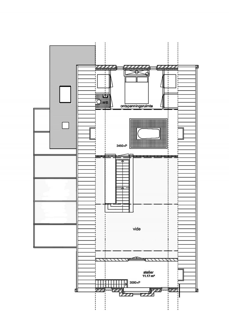 Plan de l'étage du loft