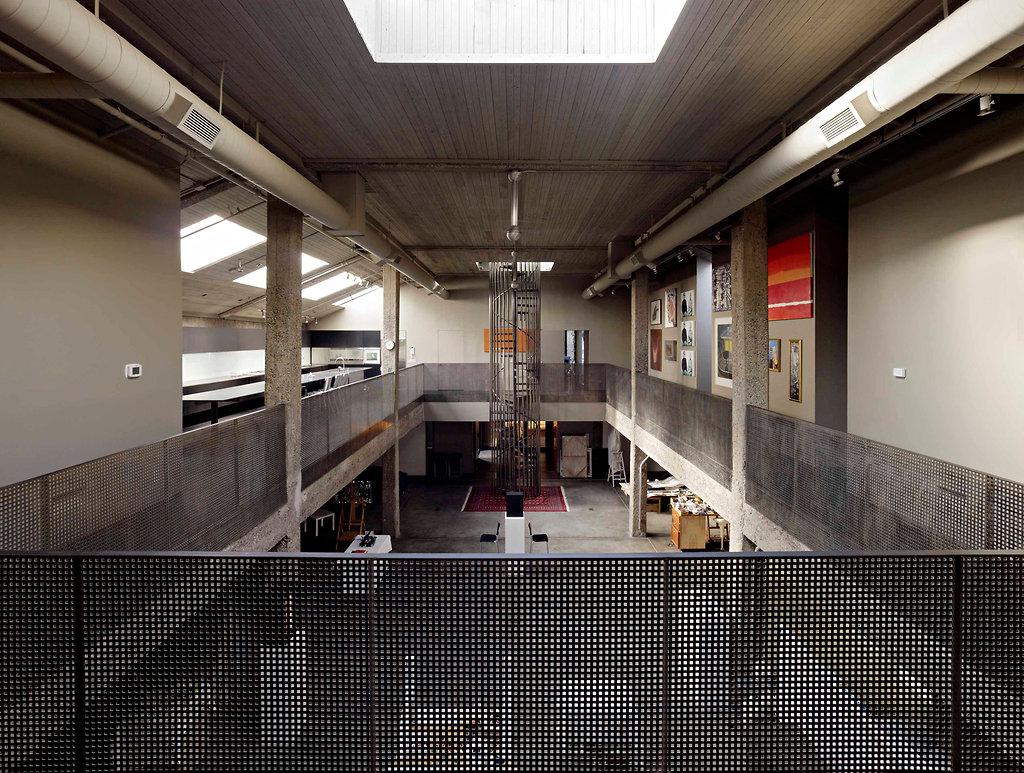 Loft dans un ancien entrepôt à San Francisco
