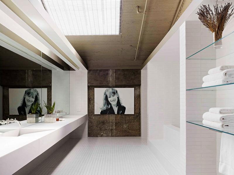 Salle de bain moderne - Salle de bain loft ...