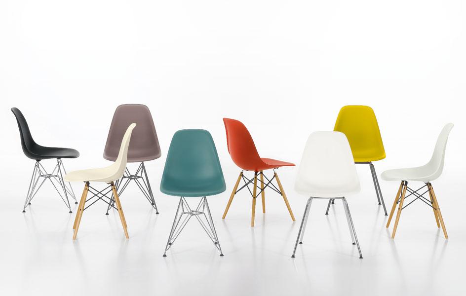Chaises eames par vitra en abs for Acheter une chaise