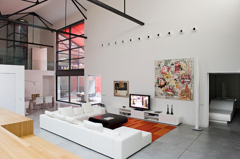 Loft de luxe bordeaux par teresa sapey for Maison loft design