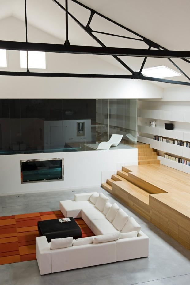 Loft de luxe bordeaux par teresa sapey - Lofts et associes bordeaux ...