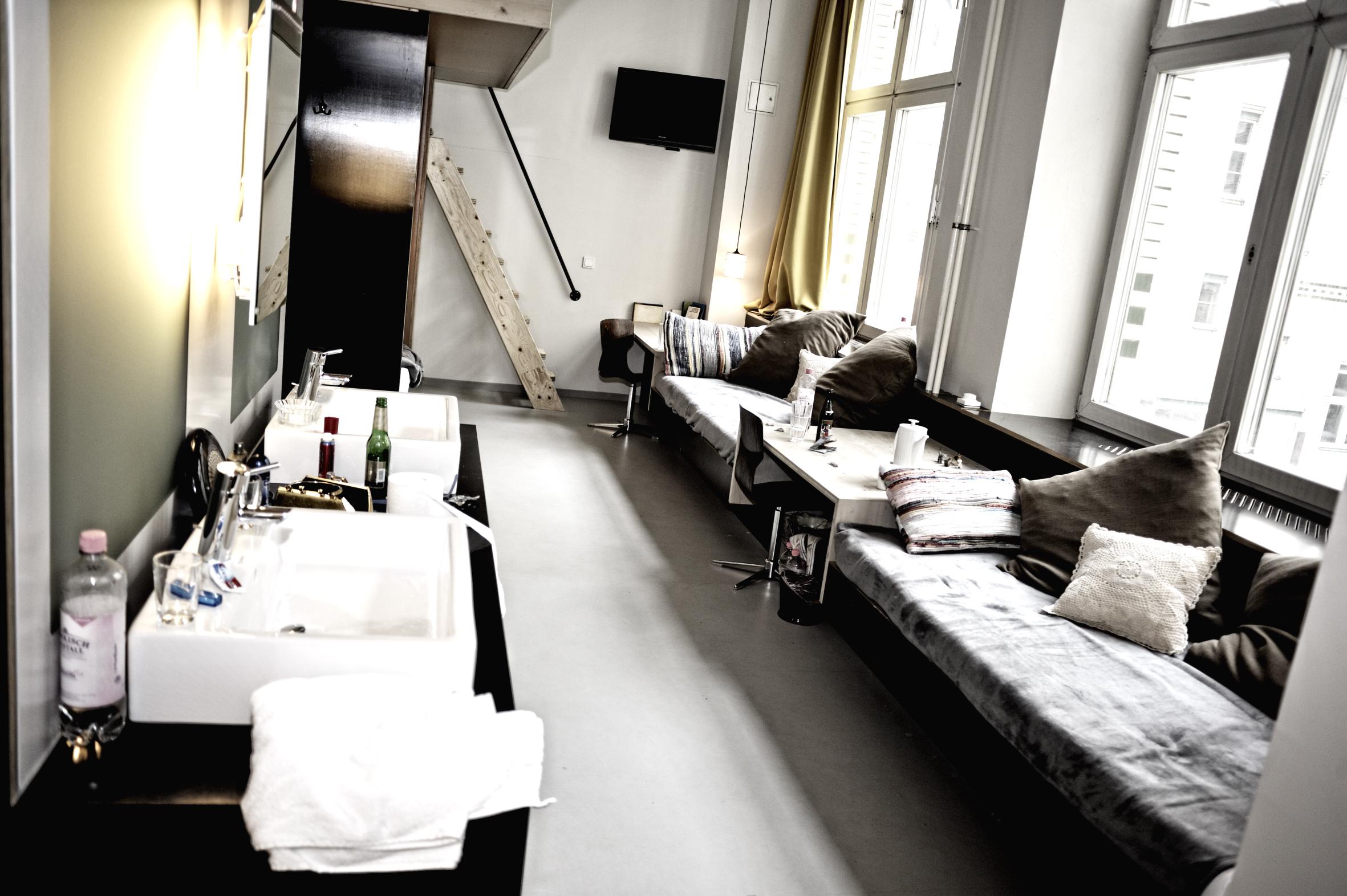 Grande chambre de l'hôtel