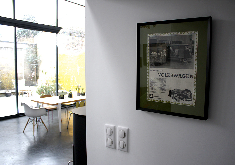 Affiche pub combi vw - Affiche combi volkswagen ...