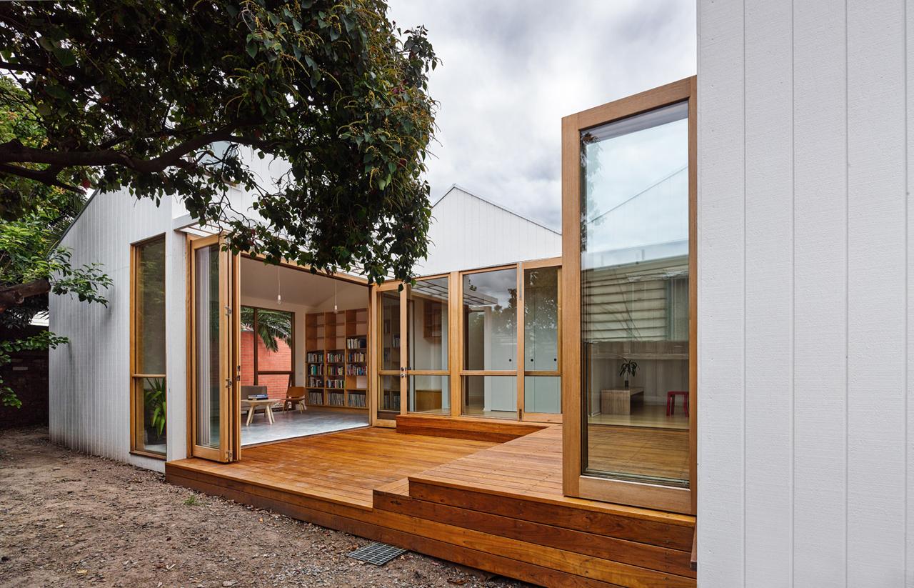 Maison avec extension esprit loft for Maison avec extension