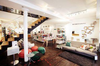 SCP, boutique de mobilier et déco à Londres
